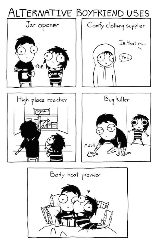 Alternate Boyfriend Uses
