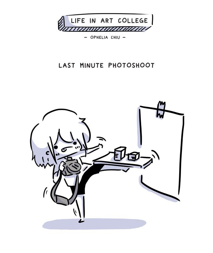 Last Minute Photoshoot